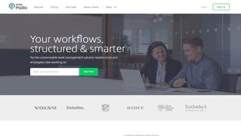 Podio collaboration tool
