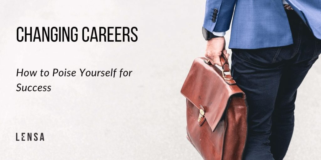 successful career professional walking confidently