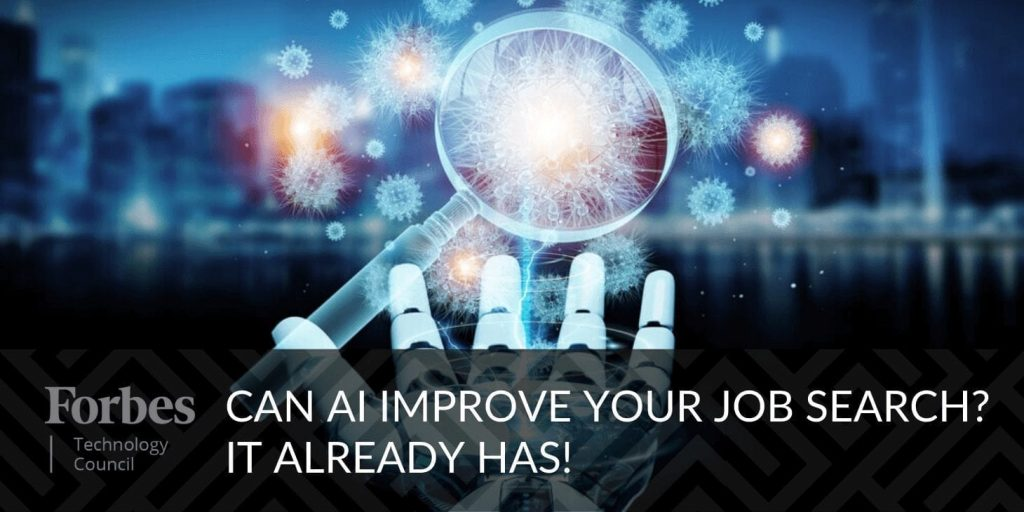 can AI improve your job search?