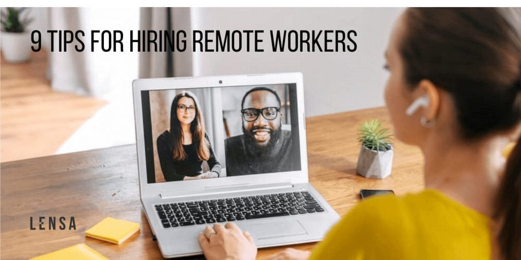 hiring remote workers online interview