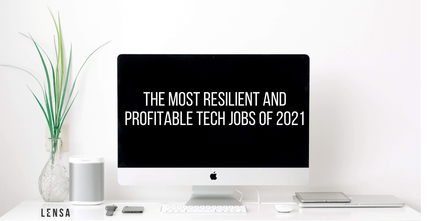 the most profitable tech jobs title on an imac