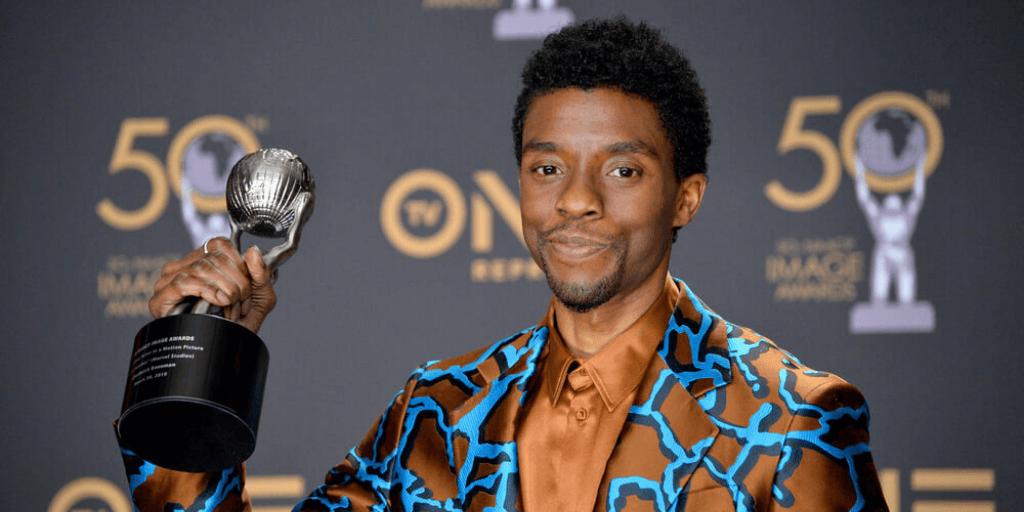 Chadwick Boseman winning an award shows his career highlight