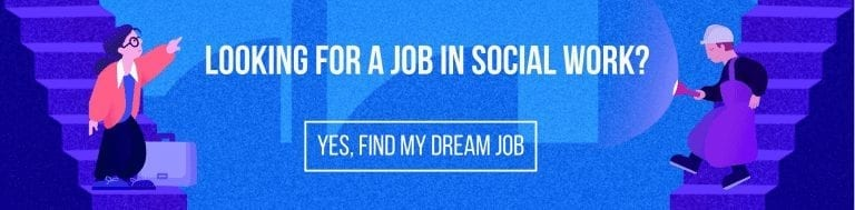 looking for a job in social work