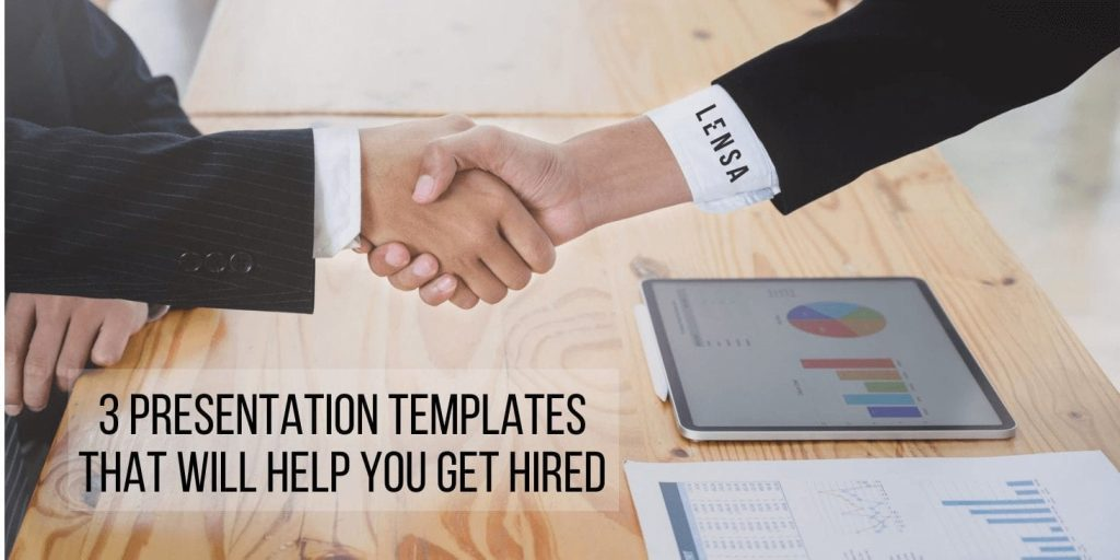 presentation templates that will help you get hired