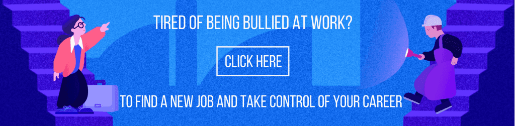 Tired of being bullied at work? Search jobs on Lensa and take back your career