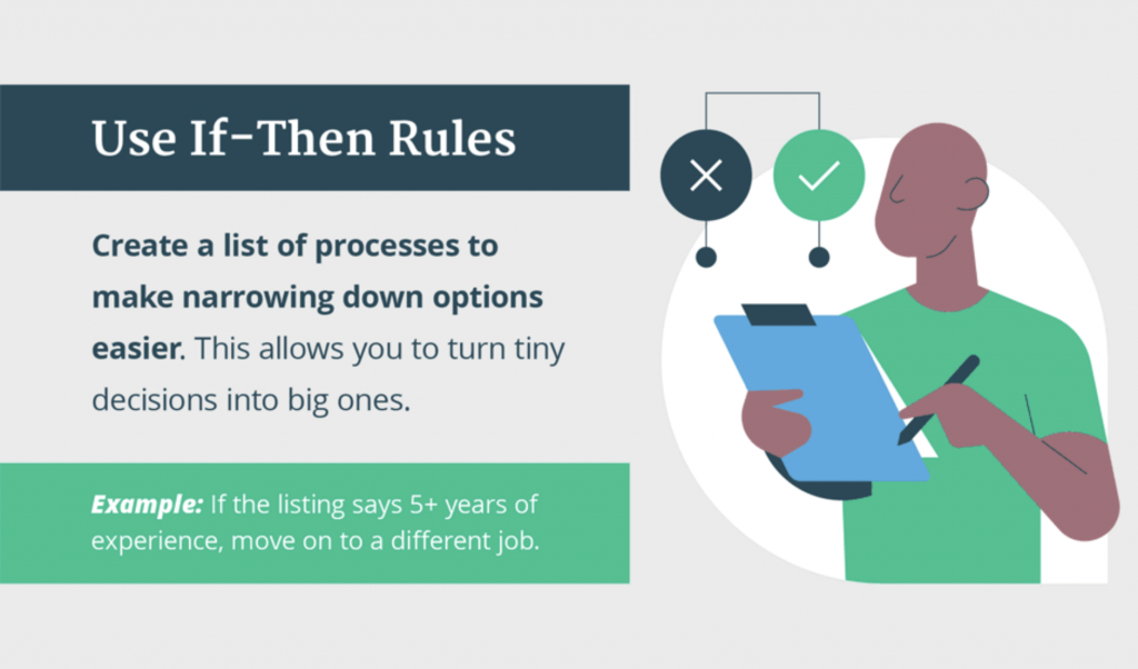 Create a list of processes to make narrowing down options easier