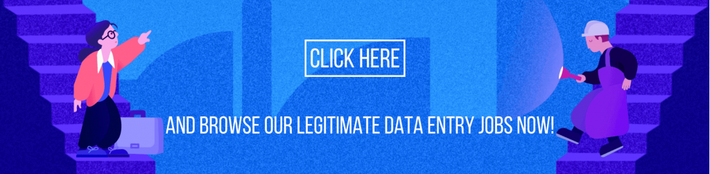 Go to lensa.com and browse legitimate data entry jobs in IT now