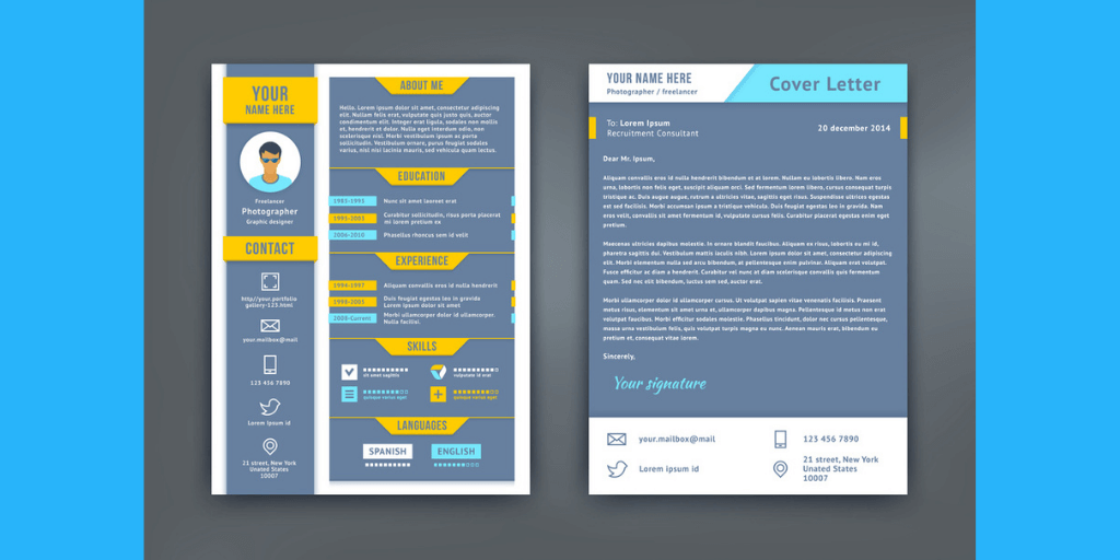 resume and cover letter differences