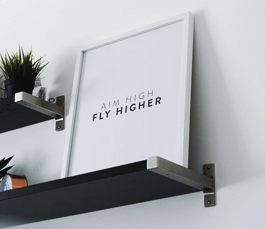 aim high fly higher in the pursuit of your dream job