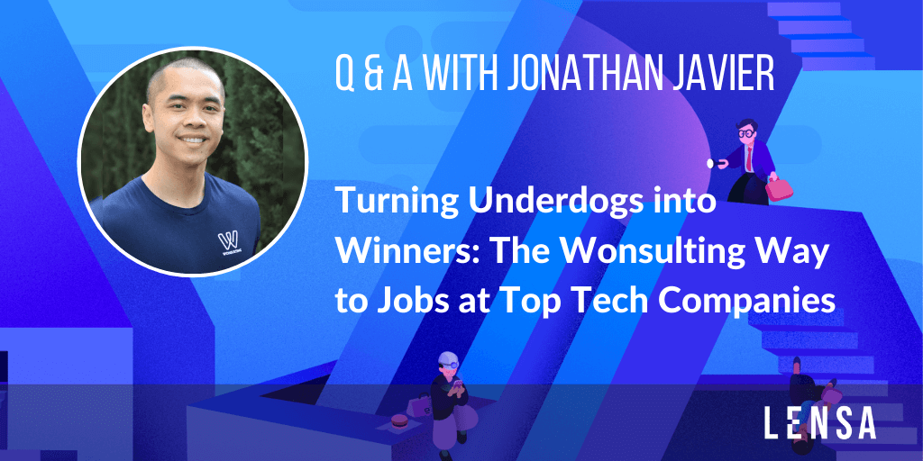 Interview with Jonathan Javier about helping underdogs land jobs at top tech companies