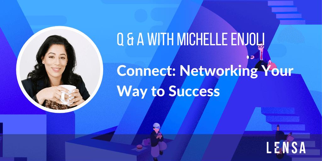 Career development interview with Michelle Enjoli